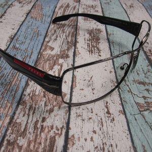 ea54b833b1e Prada Linea Rossa Accessories - Frame only! Prada SPS 53N Sunglasses  Italy OLO361